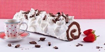 רולדת שוקולד עם קרם מסקרפונה